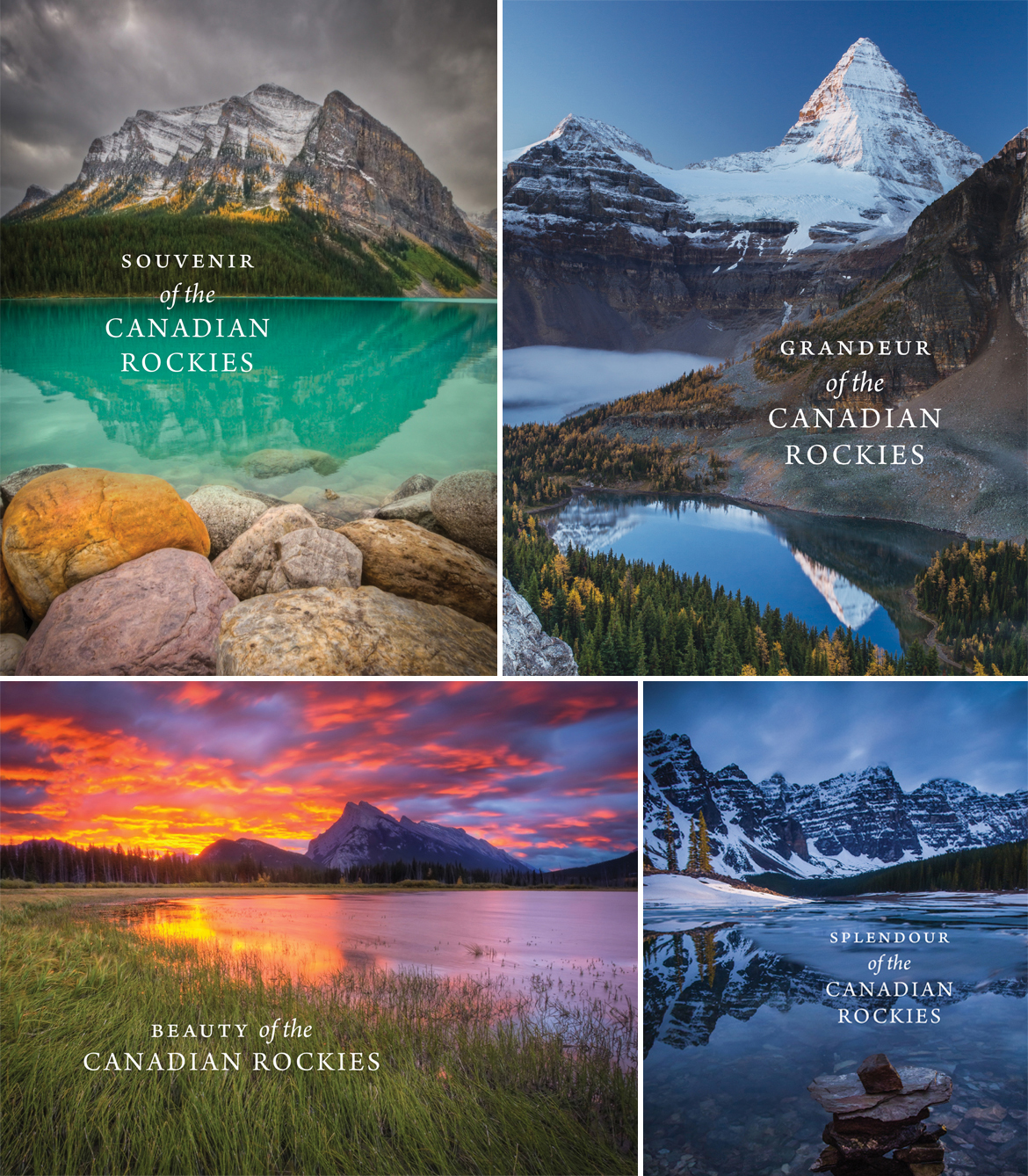 Four new books celebrate Canada's natural beauty