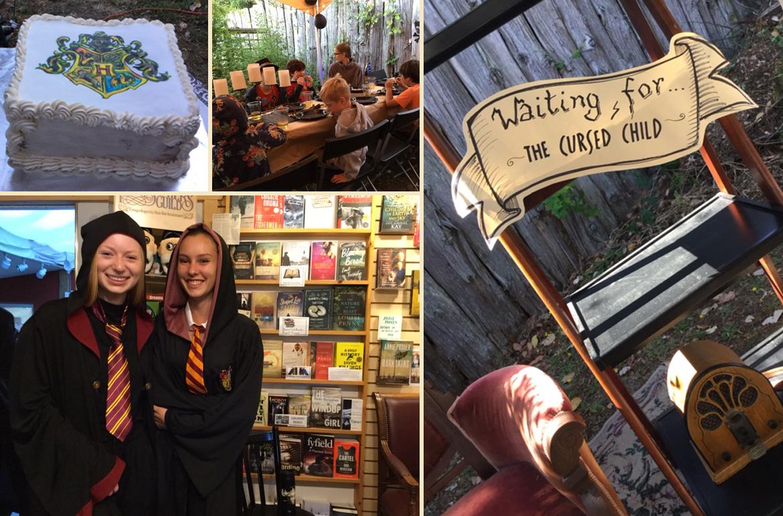 Harry Potter party at Galiano Island Books