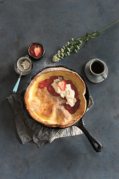 Dutch Baby from First, We Brunch by Rebecca Wellman